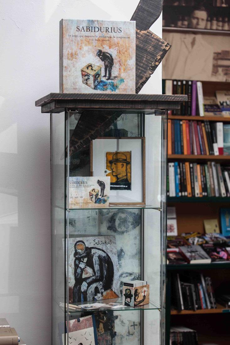eduardo armada - fotografía y diseño web - sabidurius en galería lilliput - librería versus