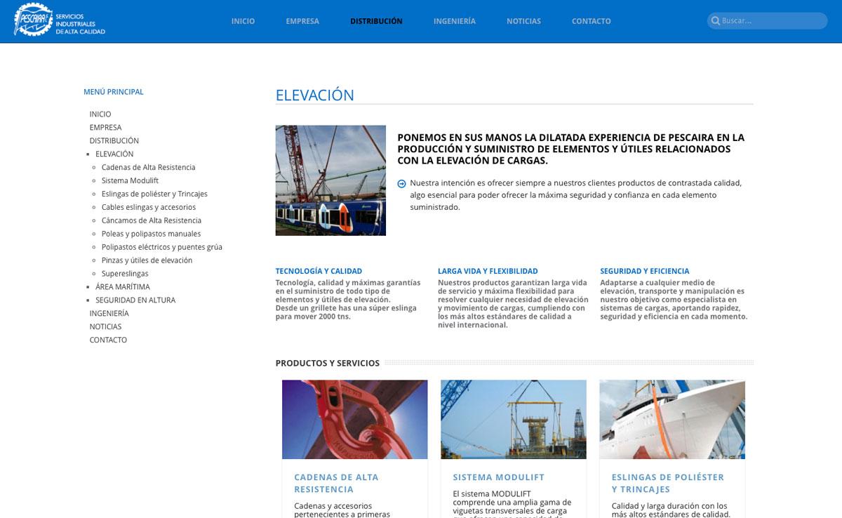 eduardo armada - diseño web industrias vigo - grupo pescaira
