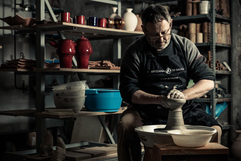 eduardo armada - fotografía y diseño web - talleres artesanía de galicia - Alfarería Lista