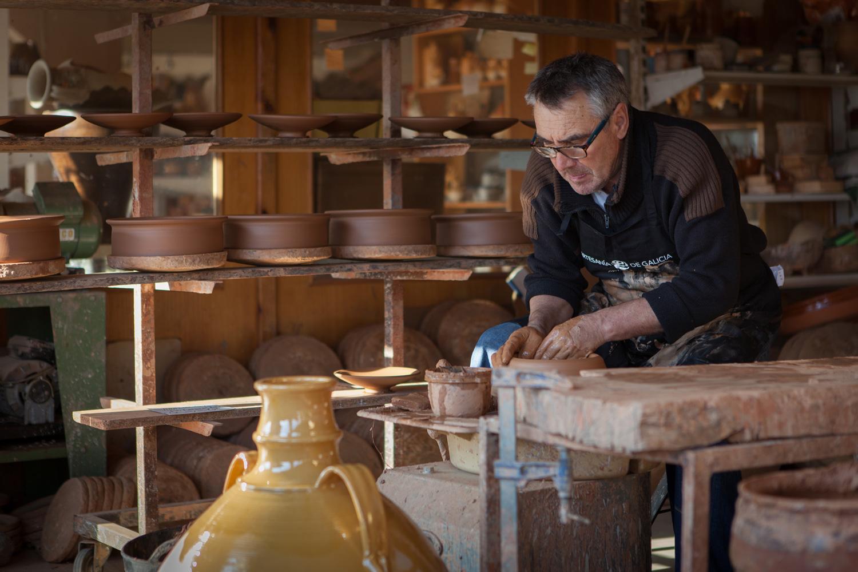 eduardo armada - fotografía y diseño web - talleres artesanía de galicia - Artesanía Agustín