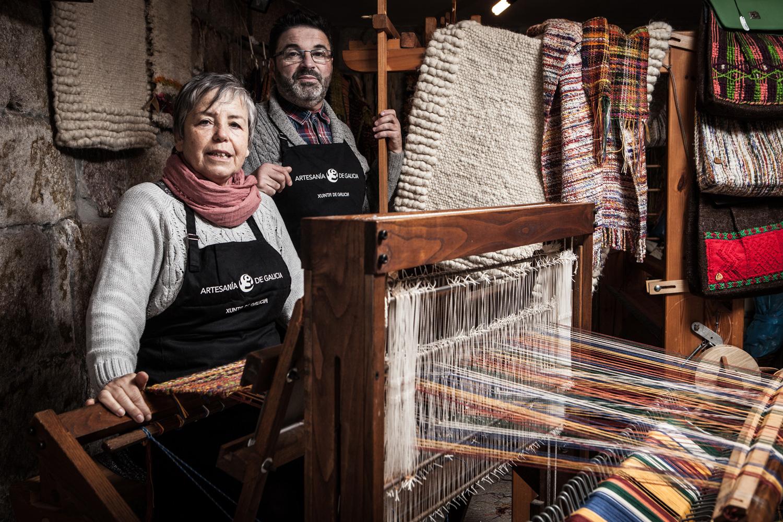 eduardo armada - fotografía y diseño web - talleres artesanía de galicia - Centro de Recuperación da Cultura Tradicional e Popular