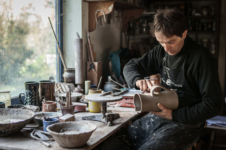 eduardo armada - fotografía y diseño web - talleres artesanía de galicia - Cerámica Unzueta