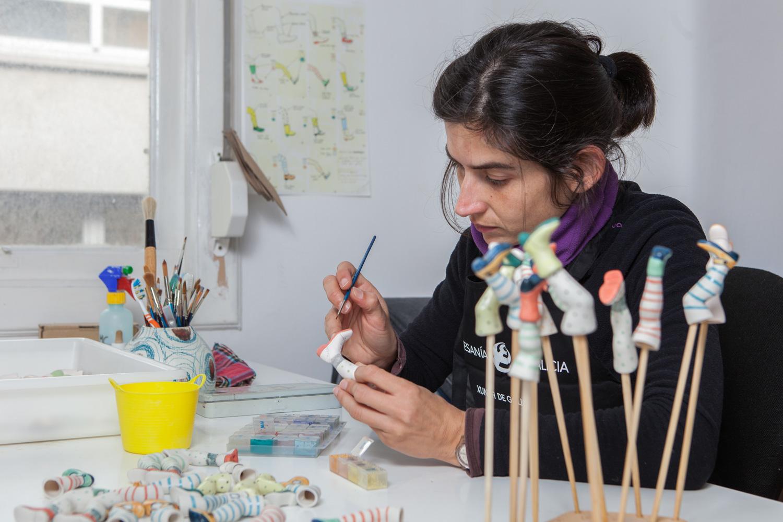 eduardo armada - fotografía y diseño web - talleres artesanía de galicia - Comocuando