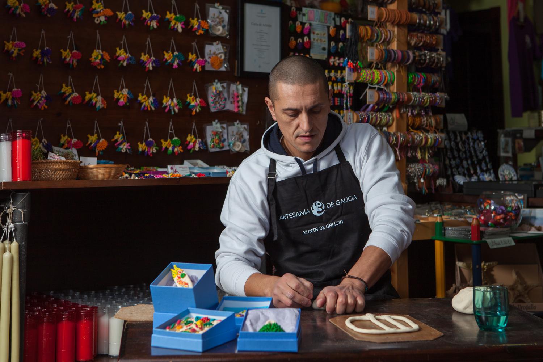 eduardo armada - fotografía y diseño web - talleres artesanía de galicia - Jorge Bellón