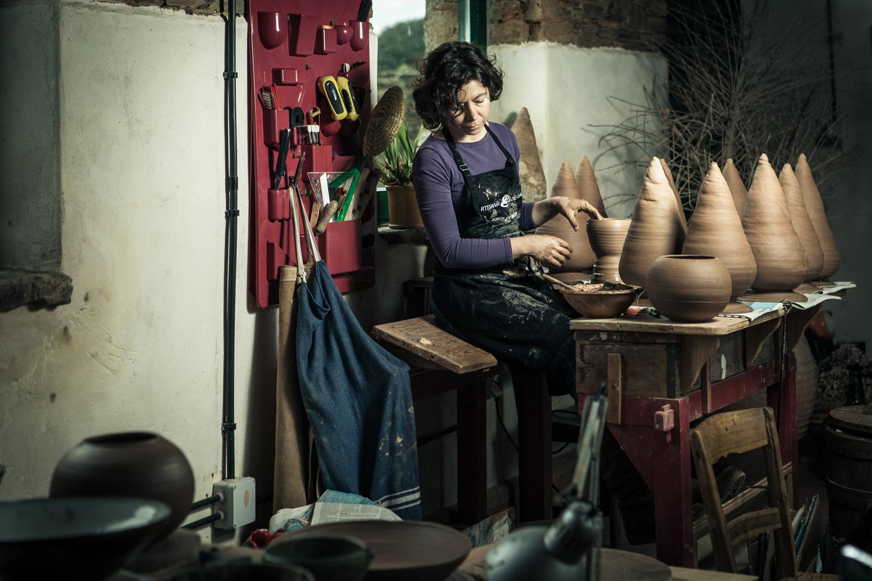 eduardo armada - fotografía y diseño web - talleres artesanía de galicia - Lucía Catuxo