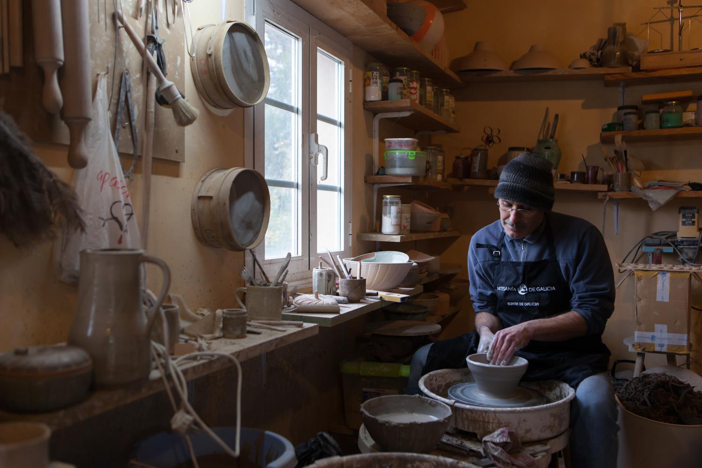 eduardo armada - fotografía y diseño web - talleres artesanía de galicia - Manuel Figueiras
