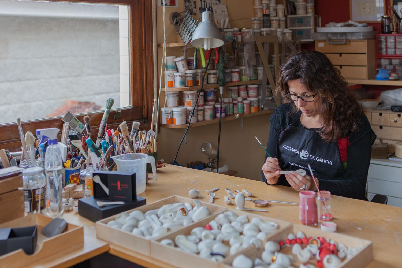 eduardo armada - fotografía y diseño web - talleres artesanía de galicia - Marta Armada