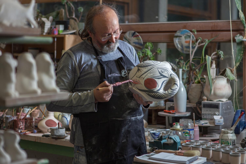 eduardo armada - fotografía y diseño web - talleres artesanía de galicia - Regal Cerámica