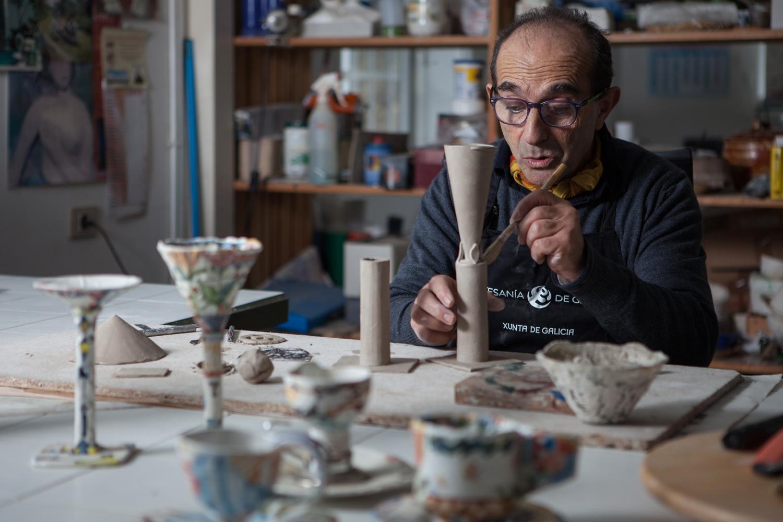 eduardo armada - fotografía y diseño web - talleres artesanía de Galicia - Suso Fernández