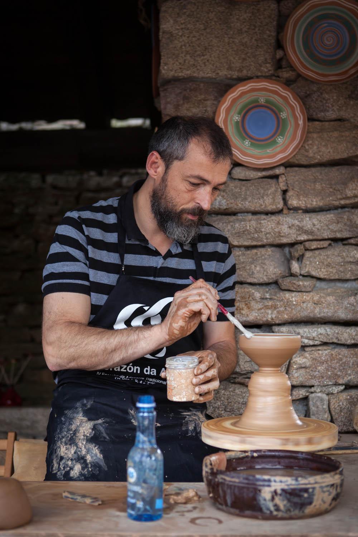 eduardo armada - fotografía y diseño web - artesanía de galicia en agolada - IV Encontro da Artesanía Tradicional e Popular de Galicia