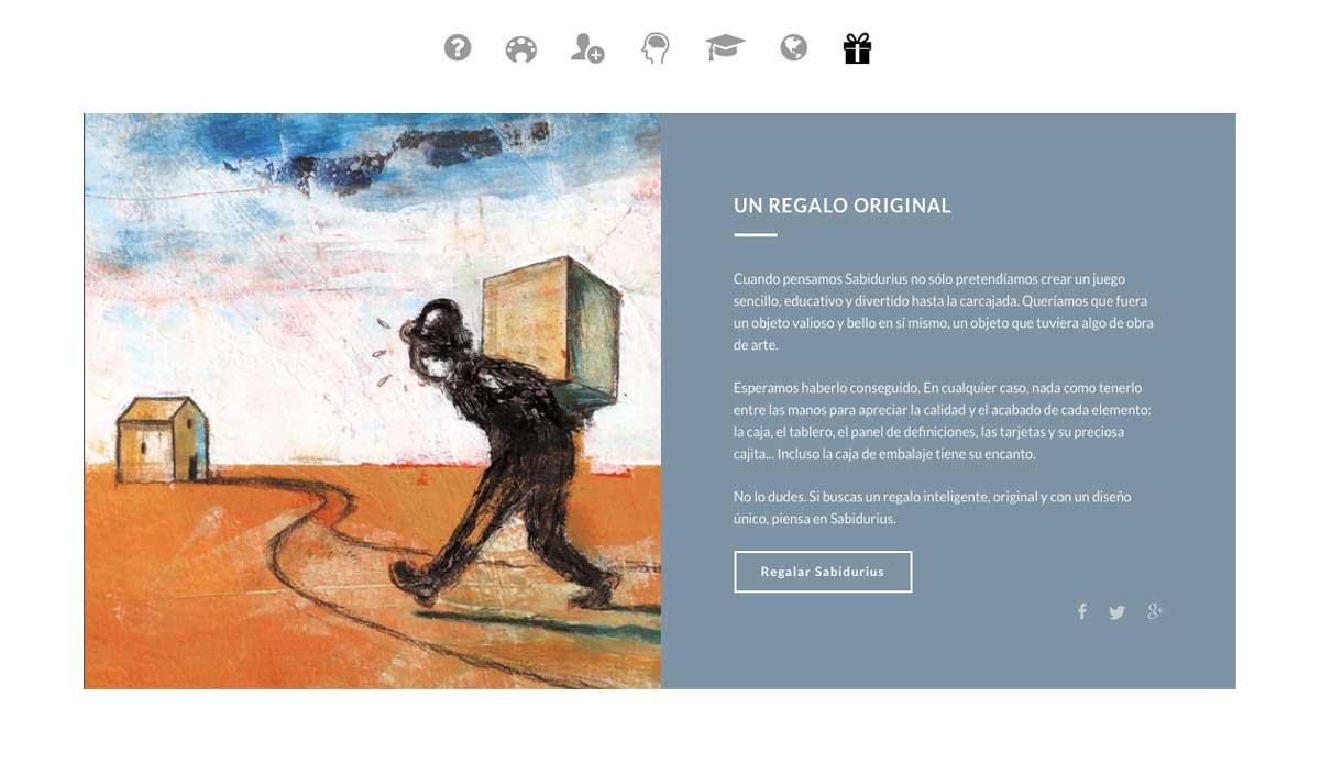 eduardo armada - diseño web tienda online - juego de mesa sabidurius