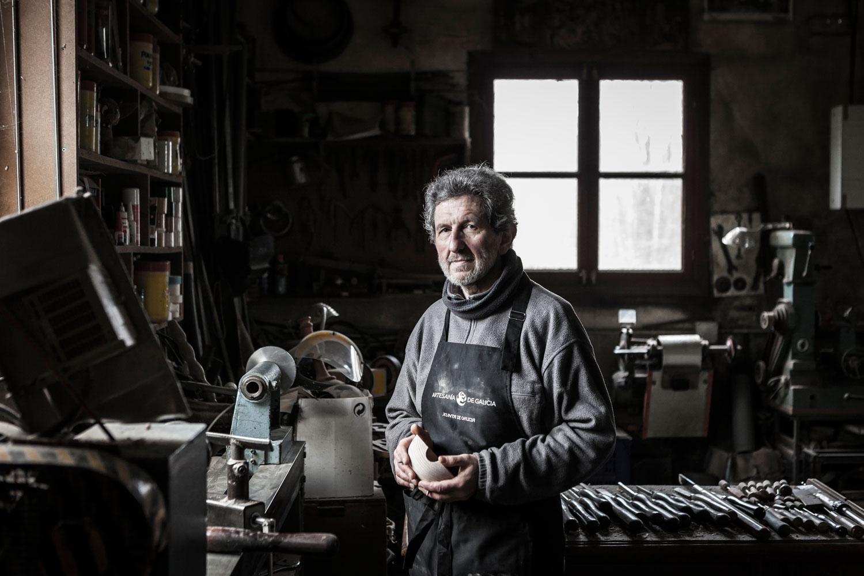 eduardo armada - fotografía y diseño web - talleres artesanía de galicia - Aldea Artesán de a Fraga