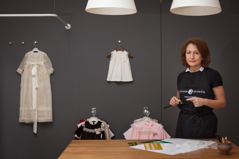 eduardo armada - fotografía y diseño web - talleres artesanía de galicia - Concha Canoura