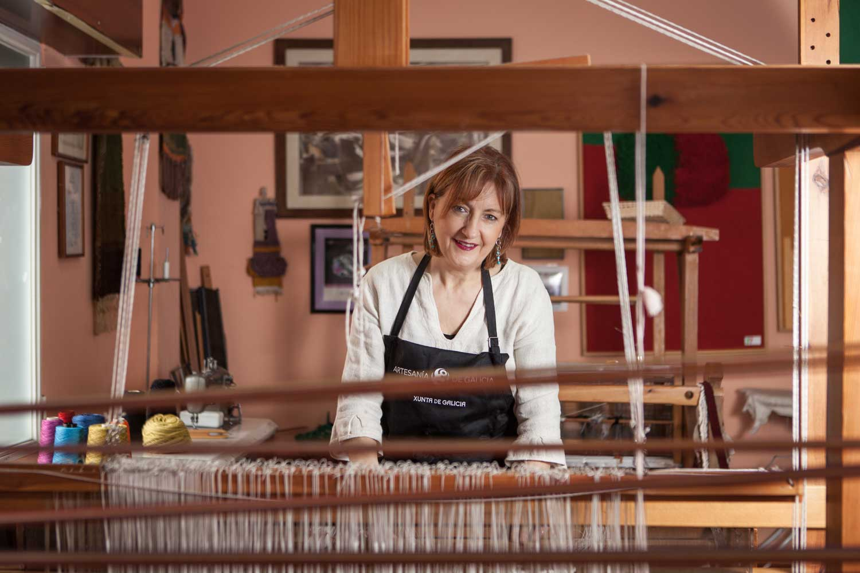 eduardo armada - fotografía y diseño web - talleres artesanía de galicia - Concha Outeiriño