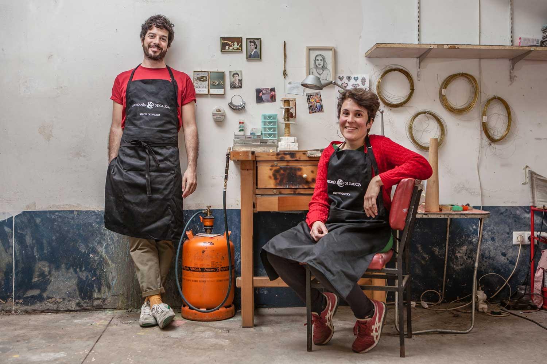eduardo armada - fotografía y diseño web - talleres artesanía de galicia - latonta y larubia