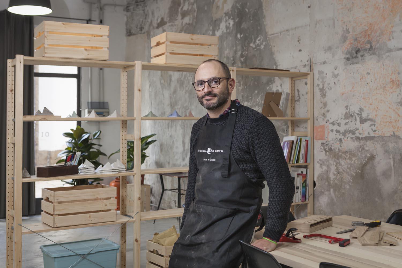 eduardo armada - fotografía y diseño web - talleres artesanía de galicia - Oitenta