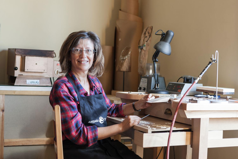eduardo armada - fotografía y diseño web - talleres artesanía de galicia - Pilar Rodal