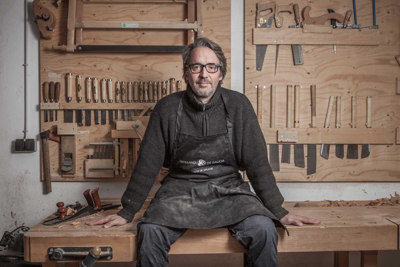 eduardo armada - fotografía y diseño web - talleres artesanía de galicia - woodworks buschmann