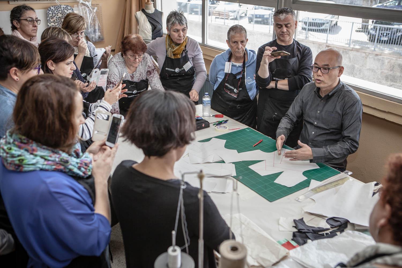 Eduardo Armada - Fotografía y Diseño Web - Artesanía de Galicia - Taller Patronaje Shingo Sato