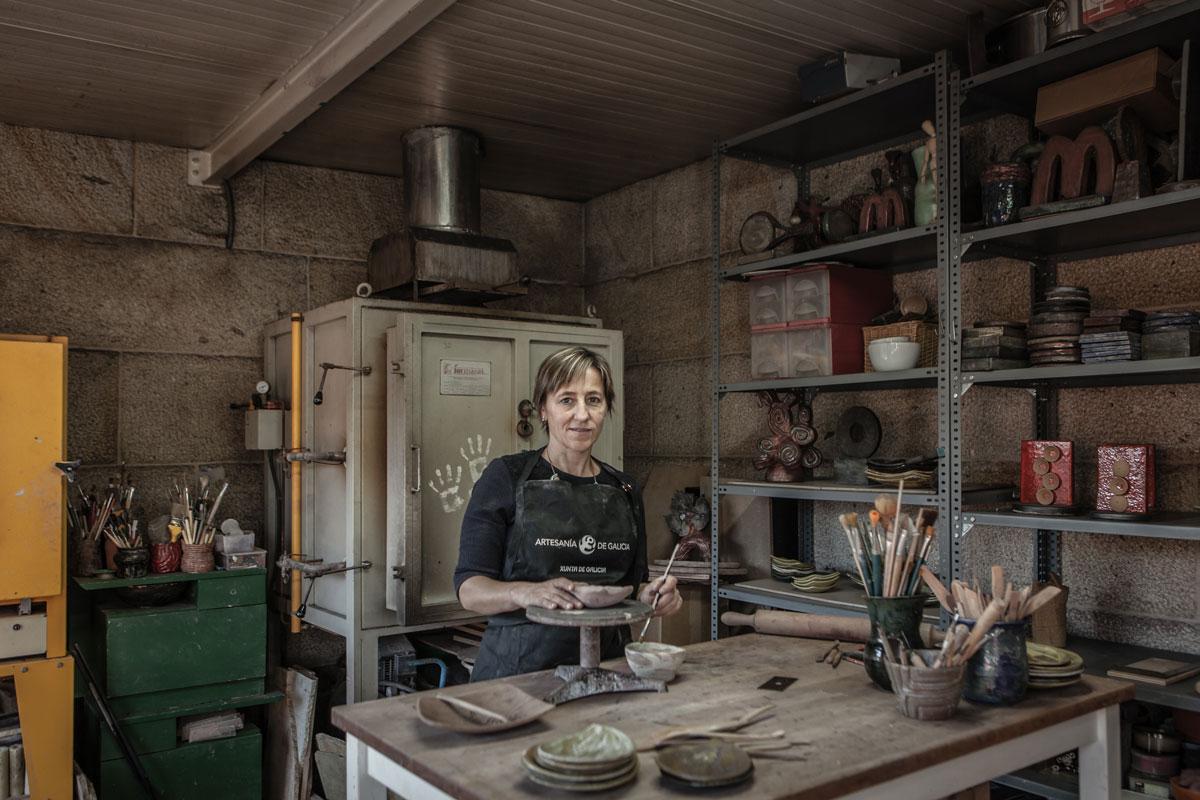 eduardo armada - fotografía y diseño web - talleres artesanía de galicia - Mar Barral