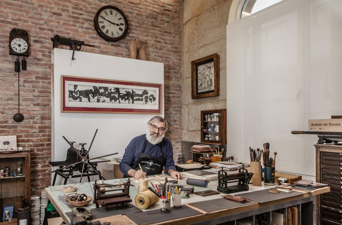 eduardo armada - fotografía y diseño web - talleres artesanía de galicia - Xabier de Sousa