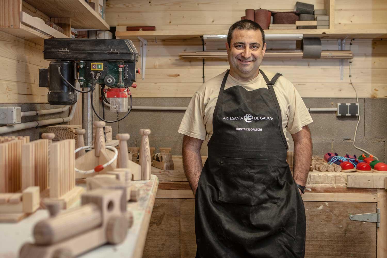 eduardo armada - fotografía y diseño web - talleres artesanía de galicia - artesanía silvent