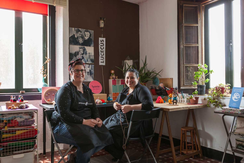 eduardo armada - fotografía y diseño web - talleres artesanía de galicia - lucecús