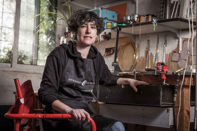 eduardo armada - fotografía y diseño web - talleres artesanía de galicia - milena colellas