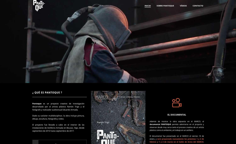 Web Pantoque - Detalle