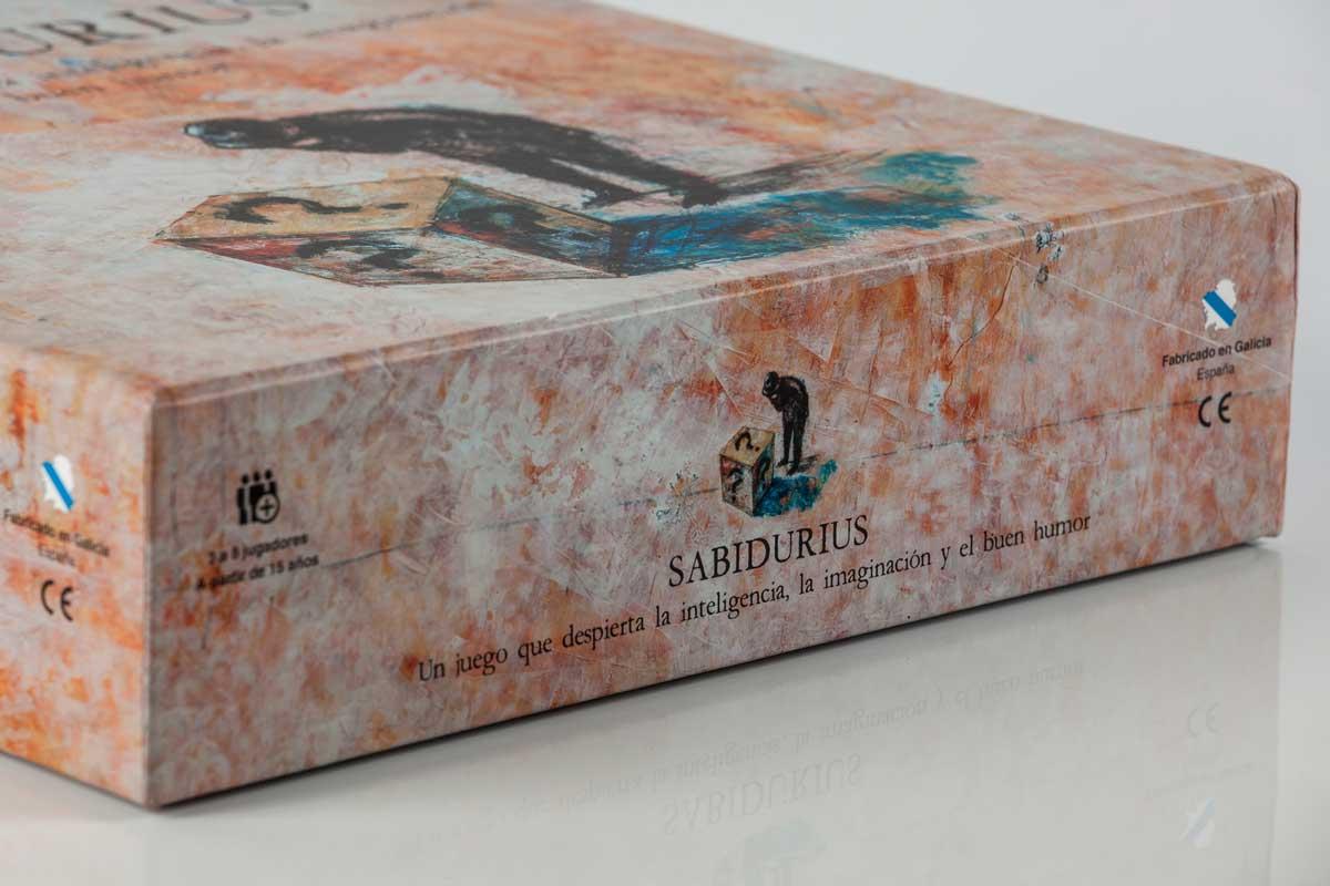 Sabidurius - Detalle caja