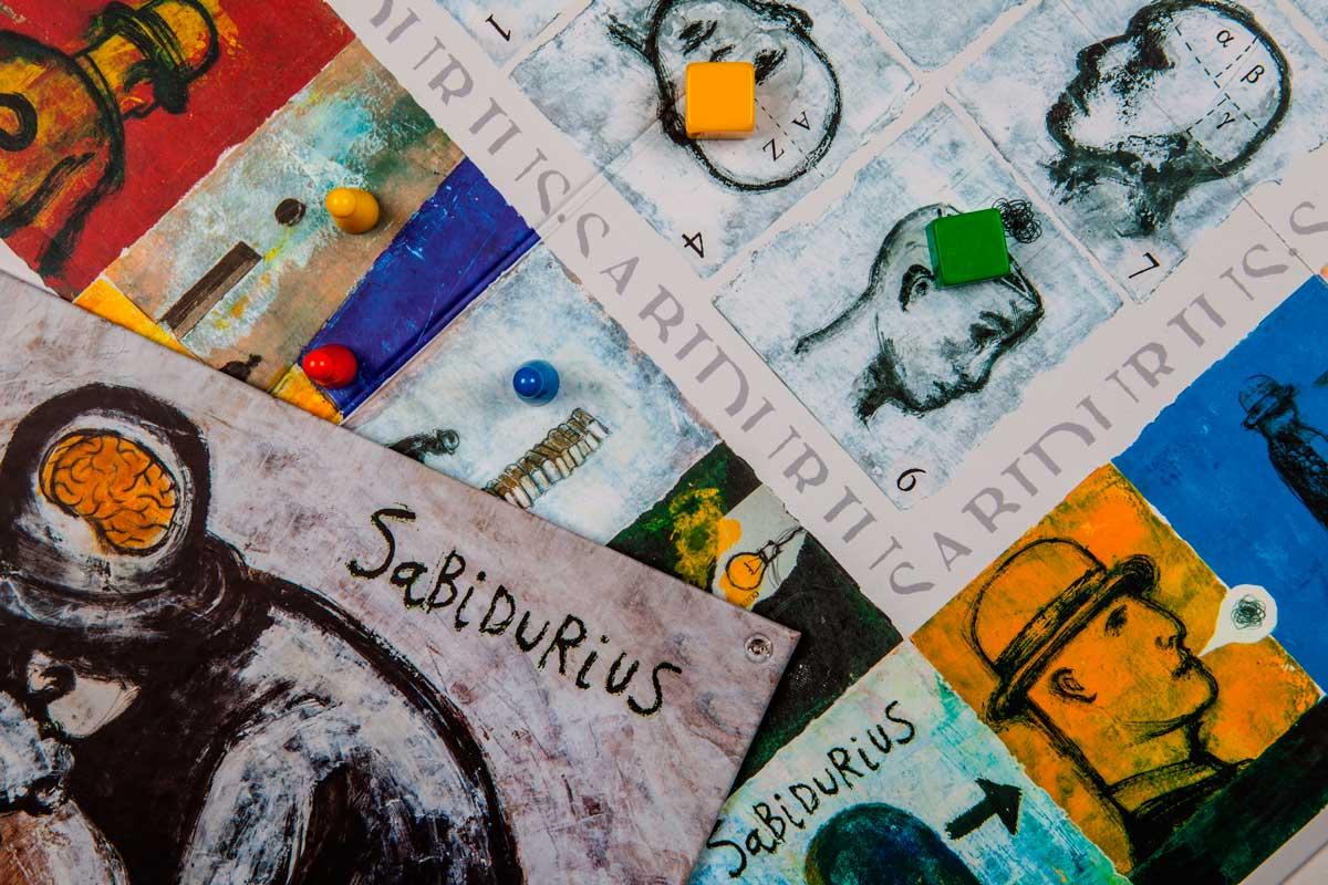 Sabidurius - Detalle tablero