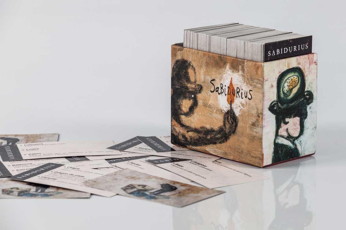 Sabidurius - Caja de tarjetas