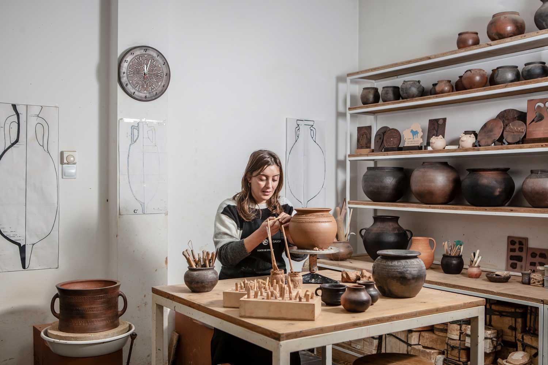 Talleres artesanía de Galicia - Fundación Terra Termarium Castrolandín