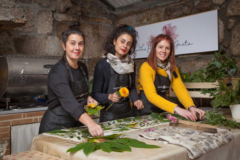 Talleres artesanía de Galicia - Las flores de Greta