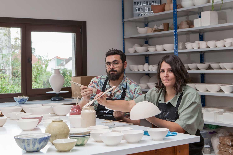 Talleres artesanía de galicia - Raposiñas