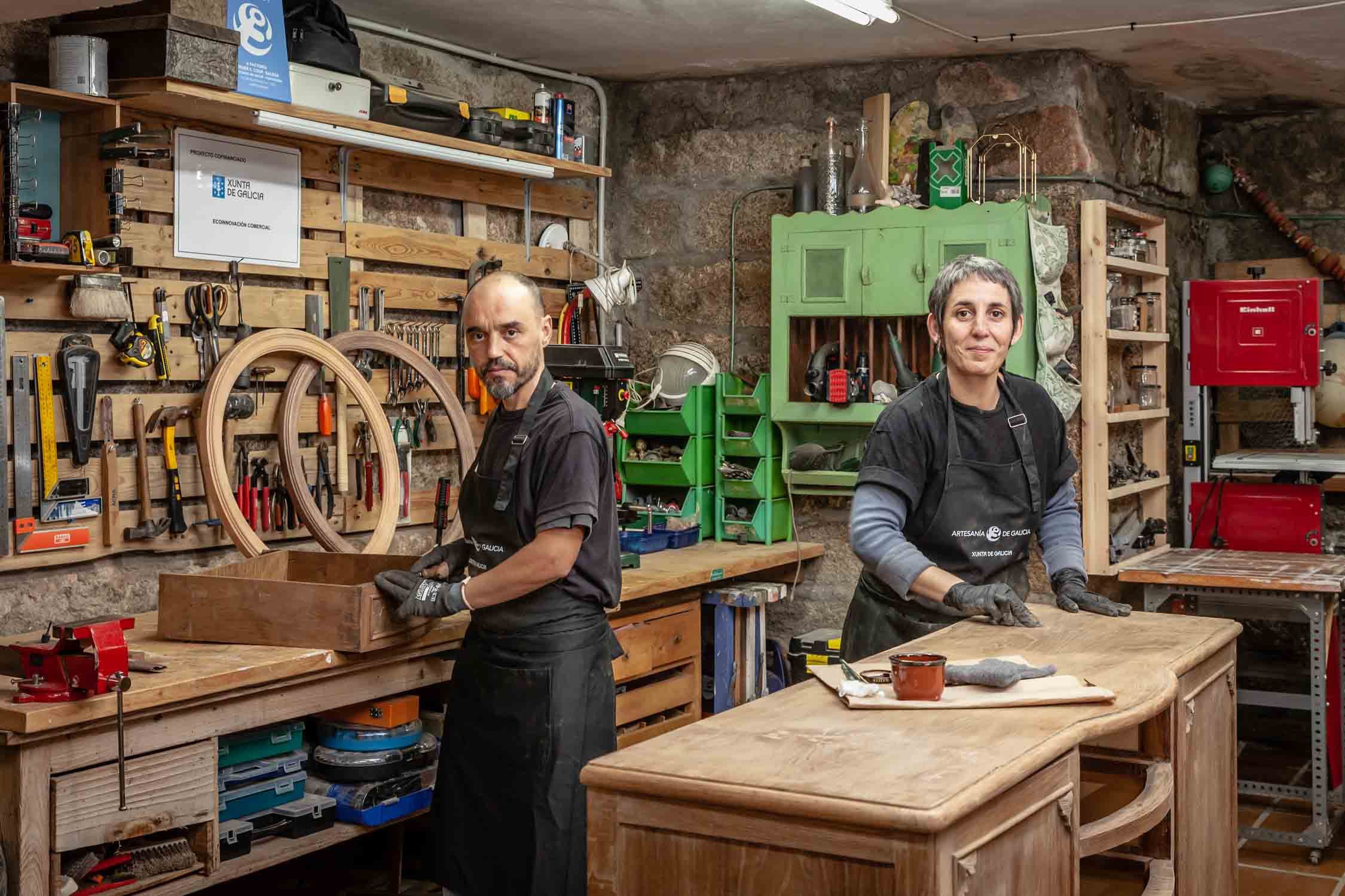 Talleres artesanía de Galicia - A Factoría Ateller