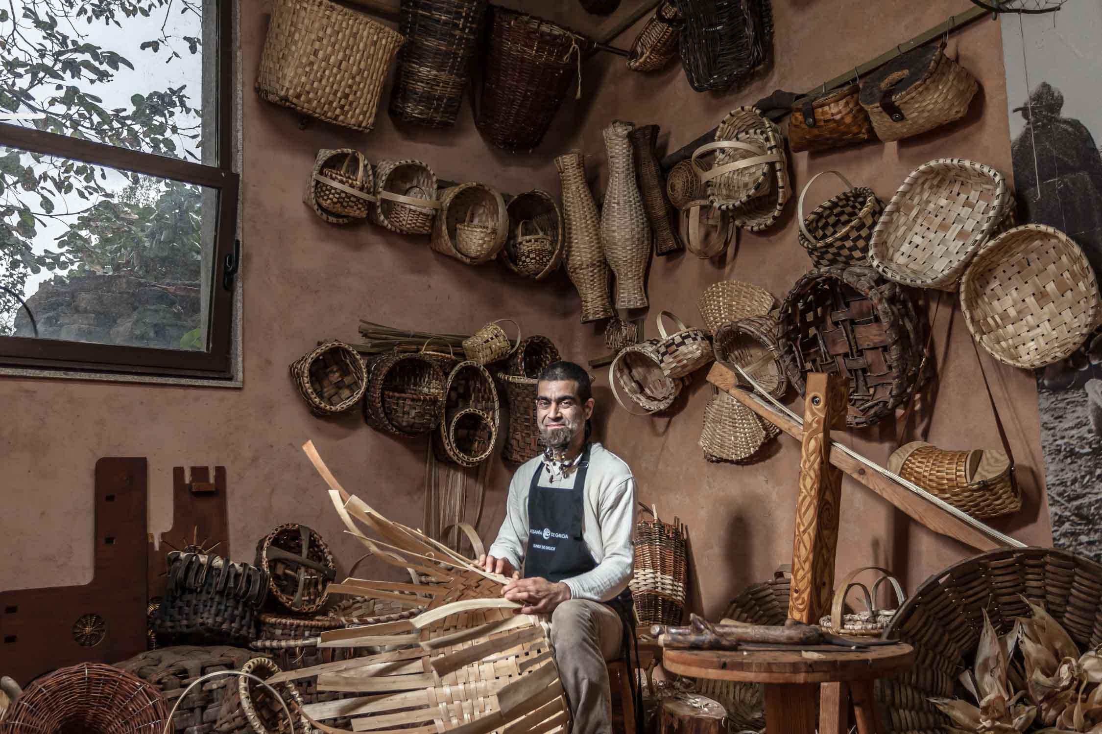 Talleres artesanía de Galicia - Arte Tradicional Vexetal