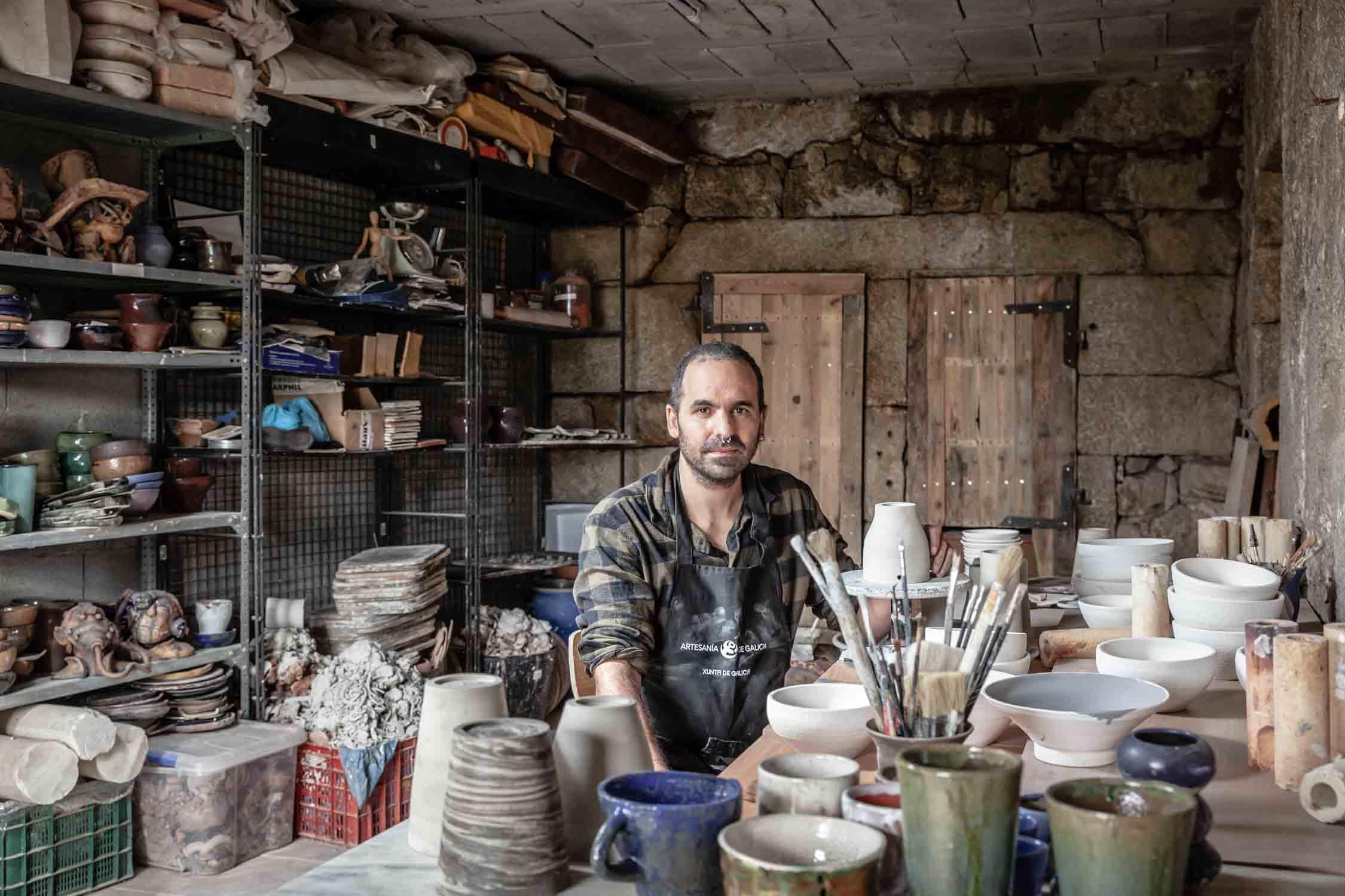 Talleres artesanía de Galicia - Cerámica Quintas