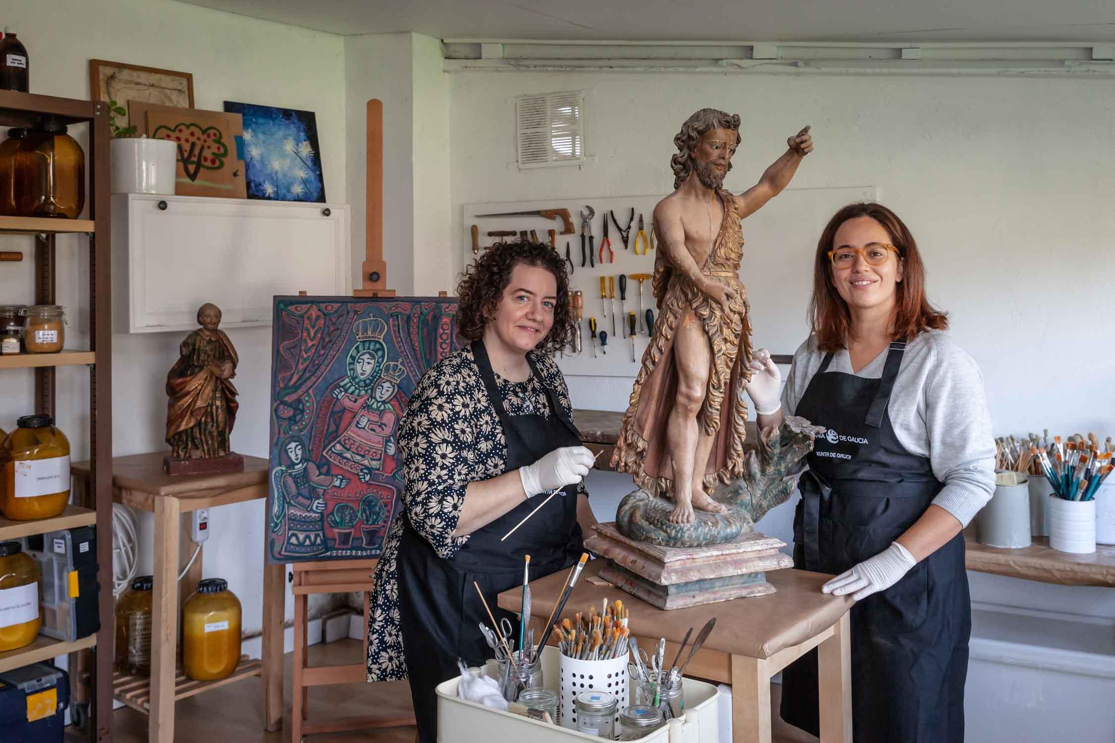 Talleres artesanía de Galicia - Crea Restauración SL