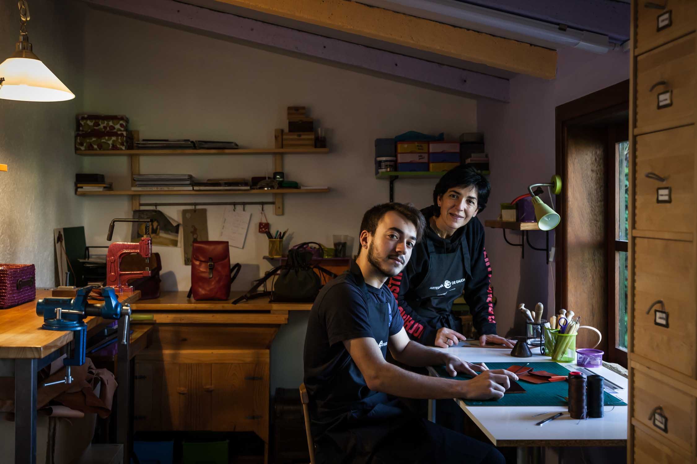 Talleres artesanía de Galicia - Encoiros