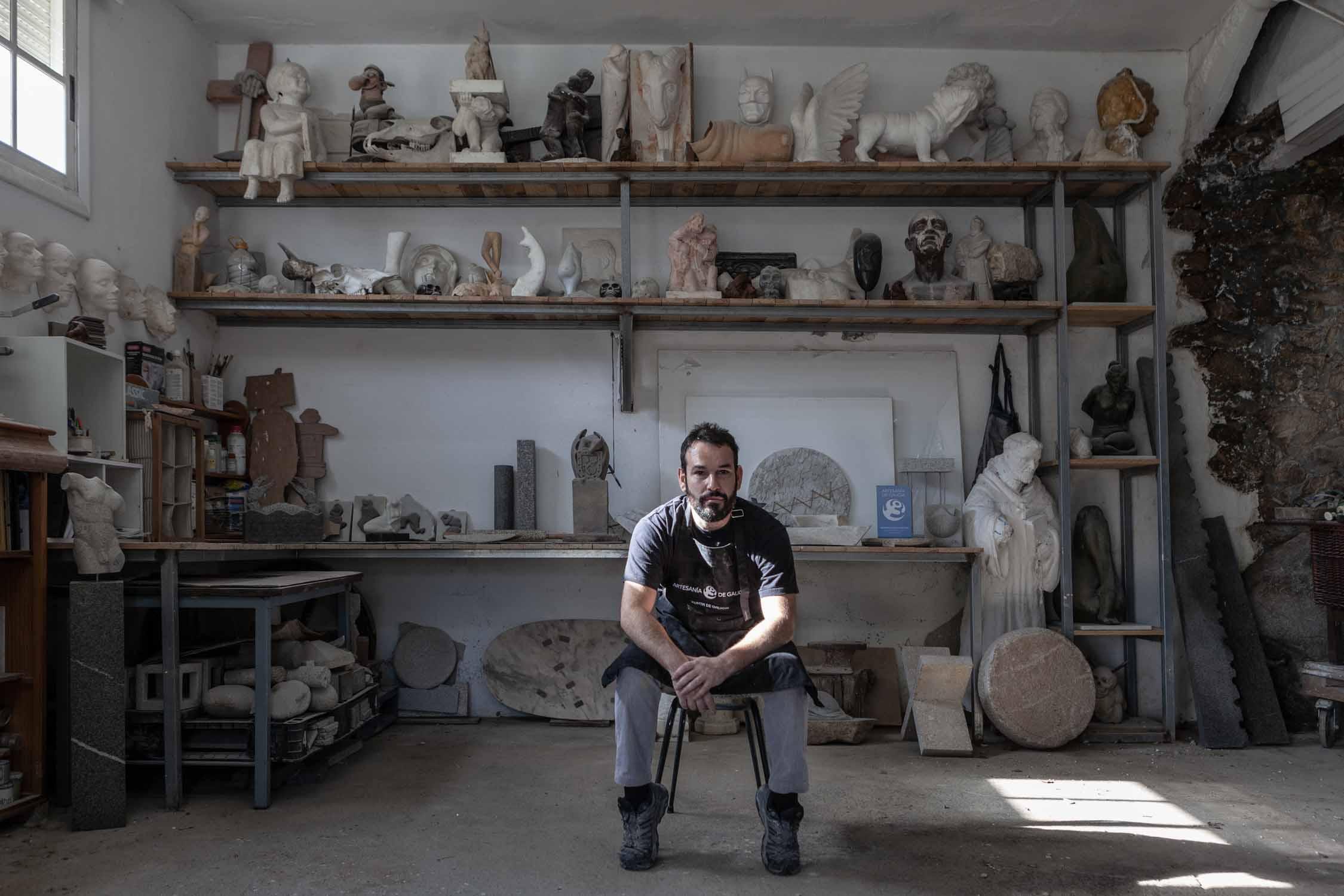 Talleres artesanía de Galicia - Pedra Stone Design Project